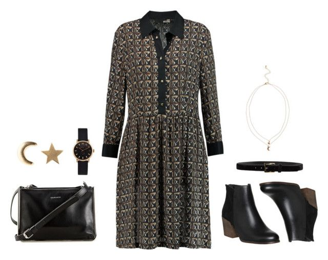 """black and gold"" by tashispetewentz ❤ liked on Polyvore"