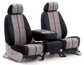 (Limited Supply) Click Image Above: Coverking Saddle Blanket Seat Covers - Saddle Blanket Car & Truck Seat Cover