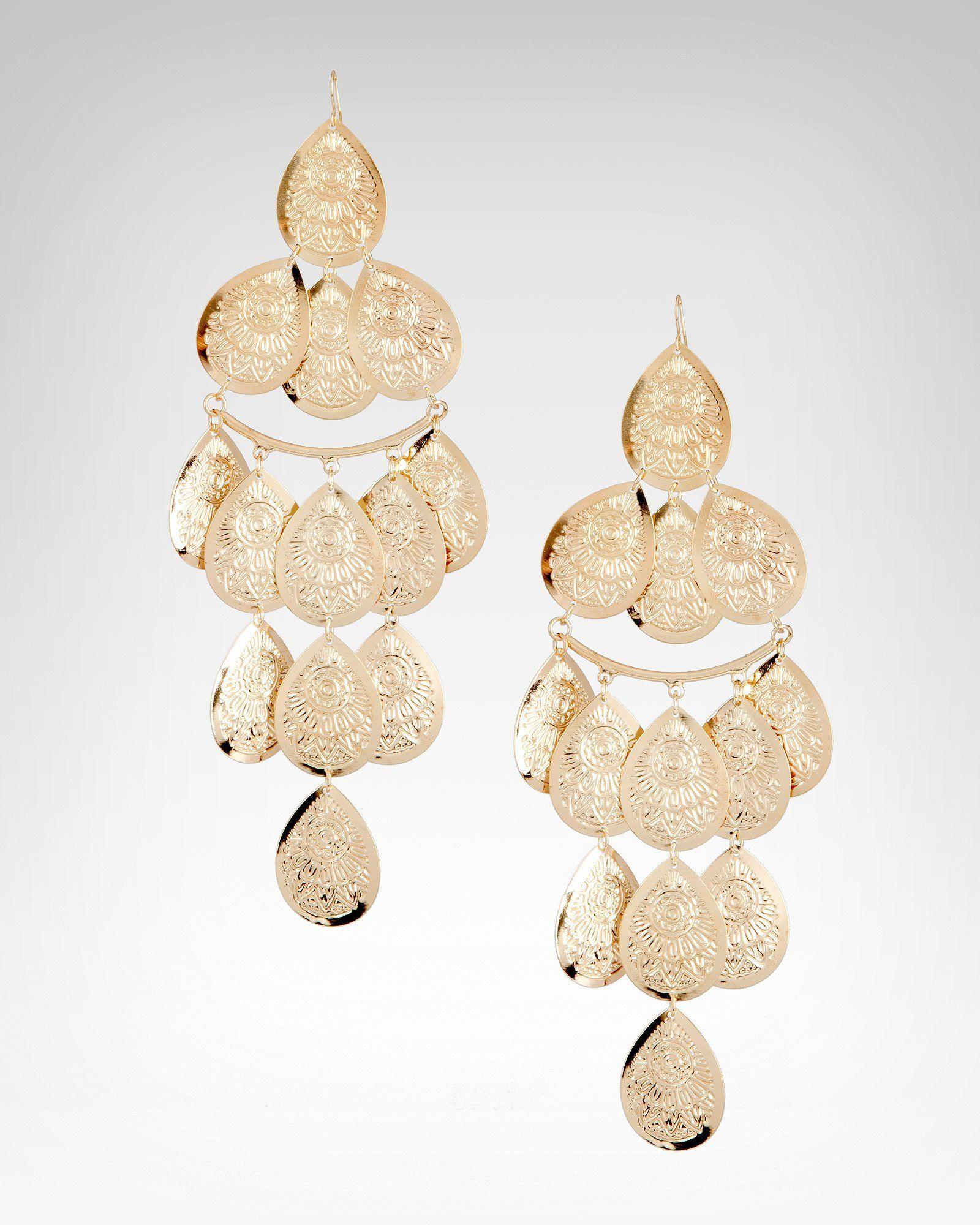 Bebe Tribal Printed Tiered Earring Pinterest Your Way Across The U K Engraved Jewelrymetal