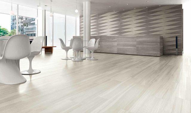 Light Wood Look Floor Tile Modern Tiles Los Angeles