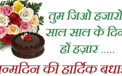Happy Birthday Images With Quotes In Hindi Anita Gupta Happy