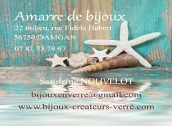 Carte Visite Adresse Amarre De Bijoux