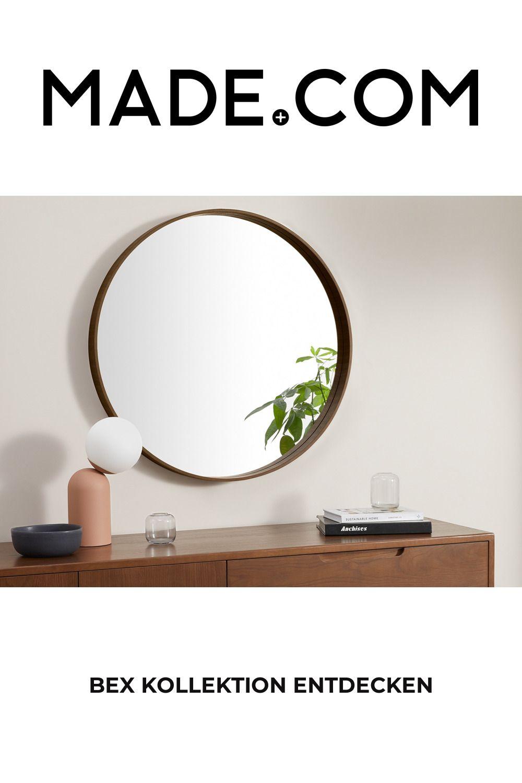 Made Wandspiegel Natur Large Round Mirror Mirror Round Mirrors