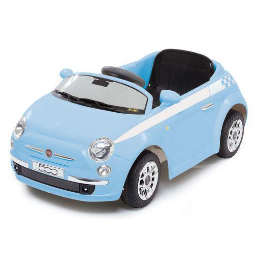 Electrische Fiat 500 Speelgoedauto Fiat 500 Ride On Blue