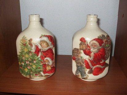Adornos de Navidad Reciclados Hacer manualidades Adornos de