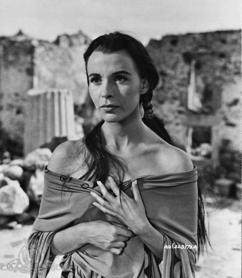 """Claire Bloom en """"Alejandro Magno"""", 1956"""
