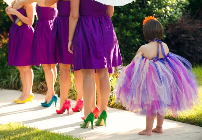 Go Colorful What Color Shoes To Wear With Purple Dress For Bridesmaids Everafterguide