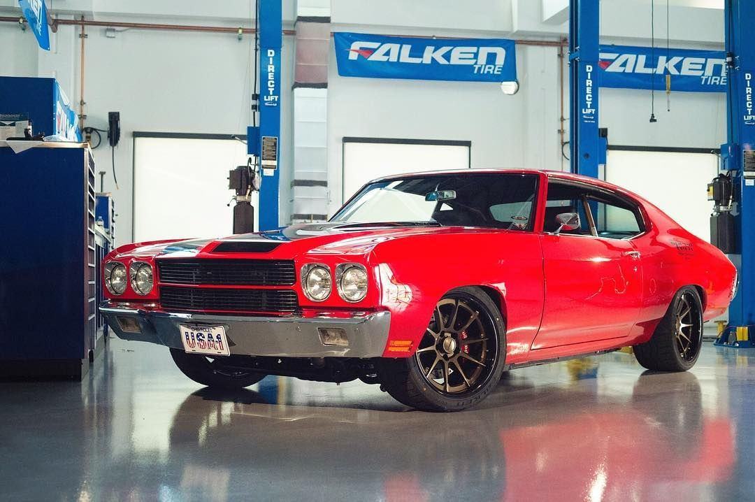 Autocross 70 Chevelle With A Little Something Special Under The