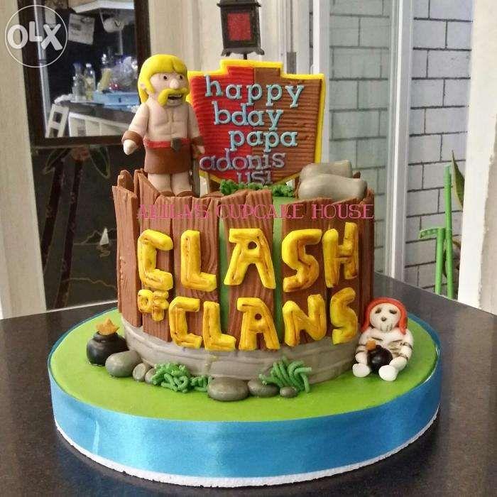 clash of clans cake - buscar con google   festa mateus clash