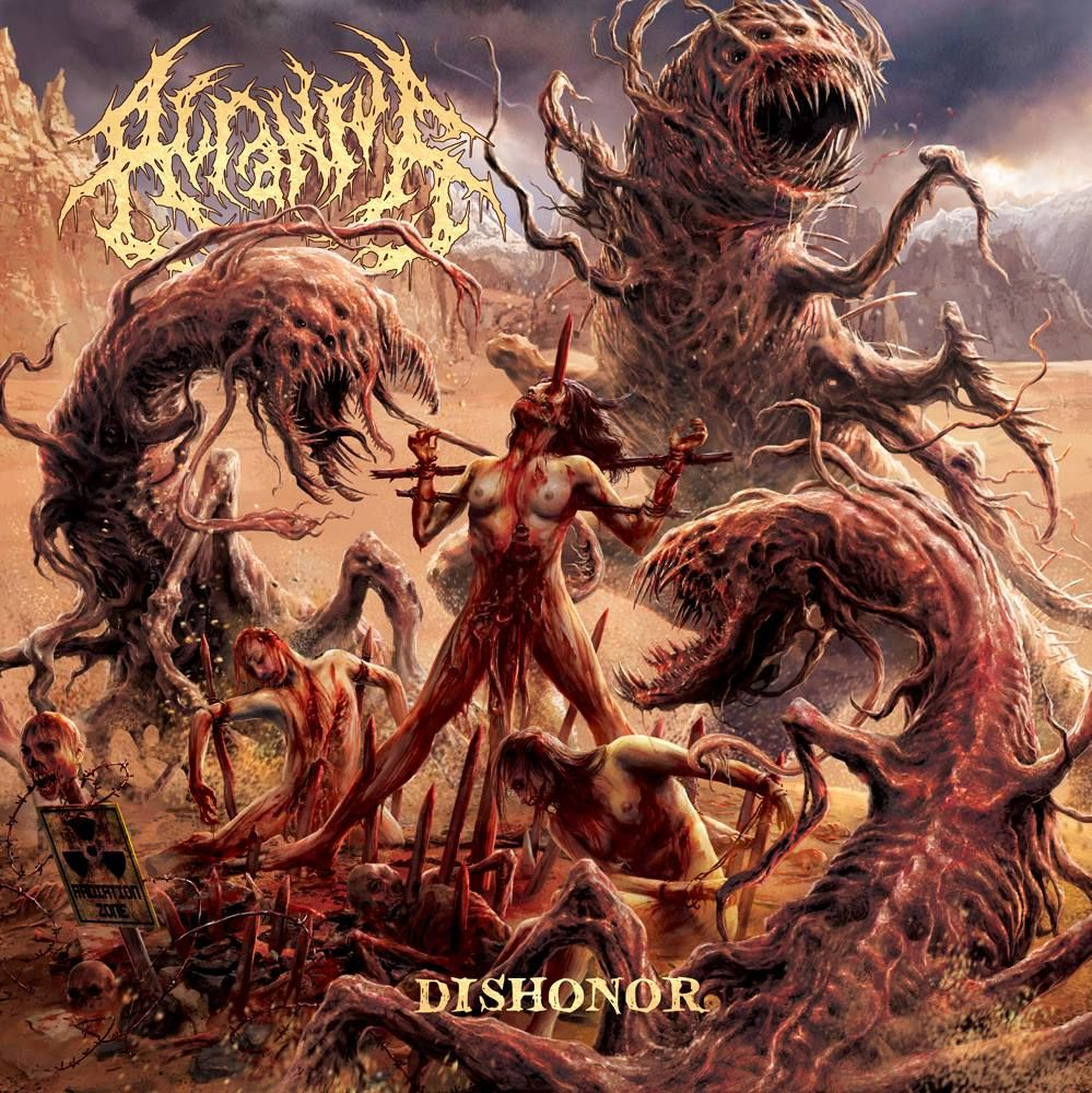 Slam not Glam — Acranius new album: Dishonor Genre: Slam (Brutal...