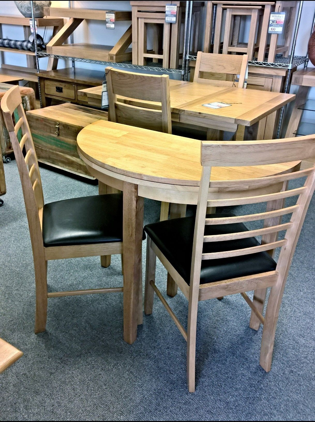 Half Moon Kitchen Table And Chairs | http://manageditservicesatlanta ...