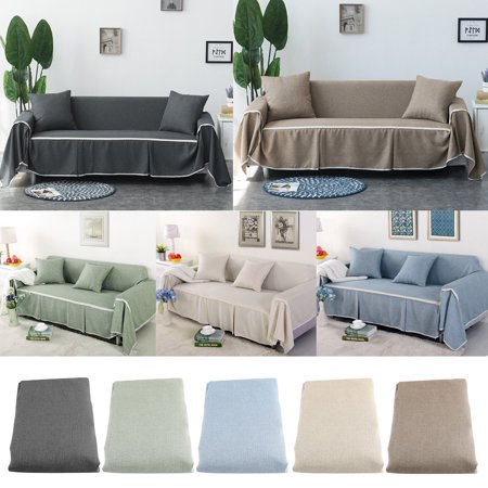 Walfront Couch Cover Slipcover Comfortable Sofa Couch Cover Chair Throw Mat Furniture Protector Slipcover For Couch Covers Slipcovers Couch Covers Sofa Covers