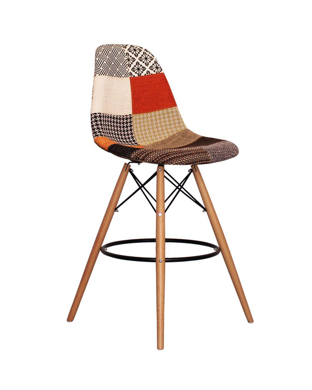 Assez Tabouret DSW patchwork | Deco | Pinterest | Eames, Charles eames  FC92