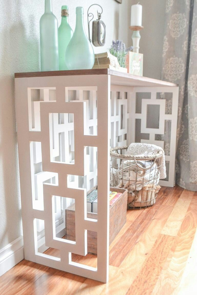Fretwork and decor in our time 44