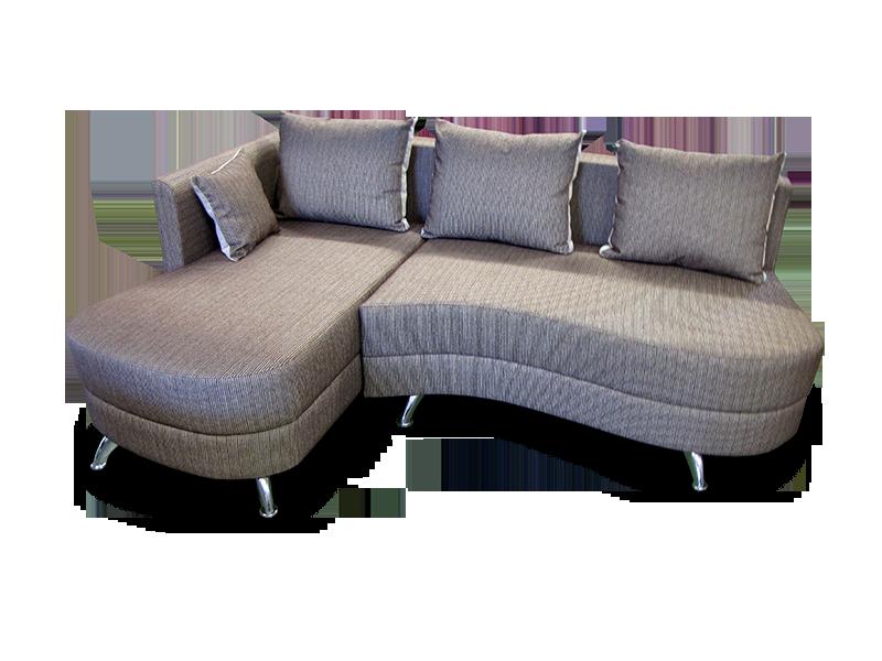 Фото углового дивана волна