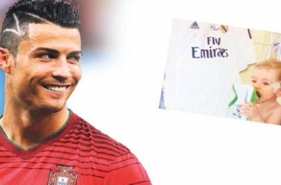 Ronaldo frisur narbe