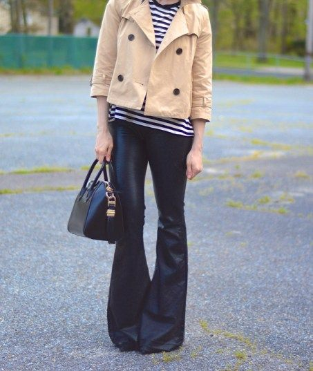 Cropped Trench | Basicallyblonde