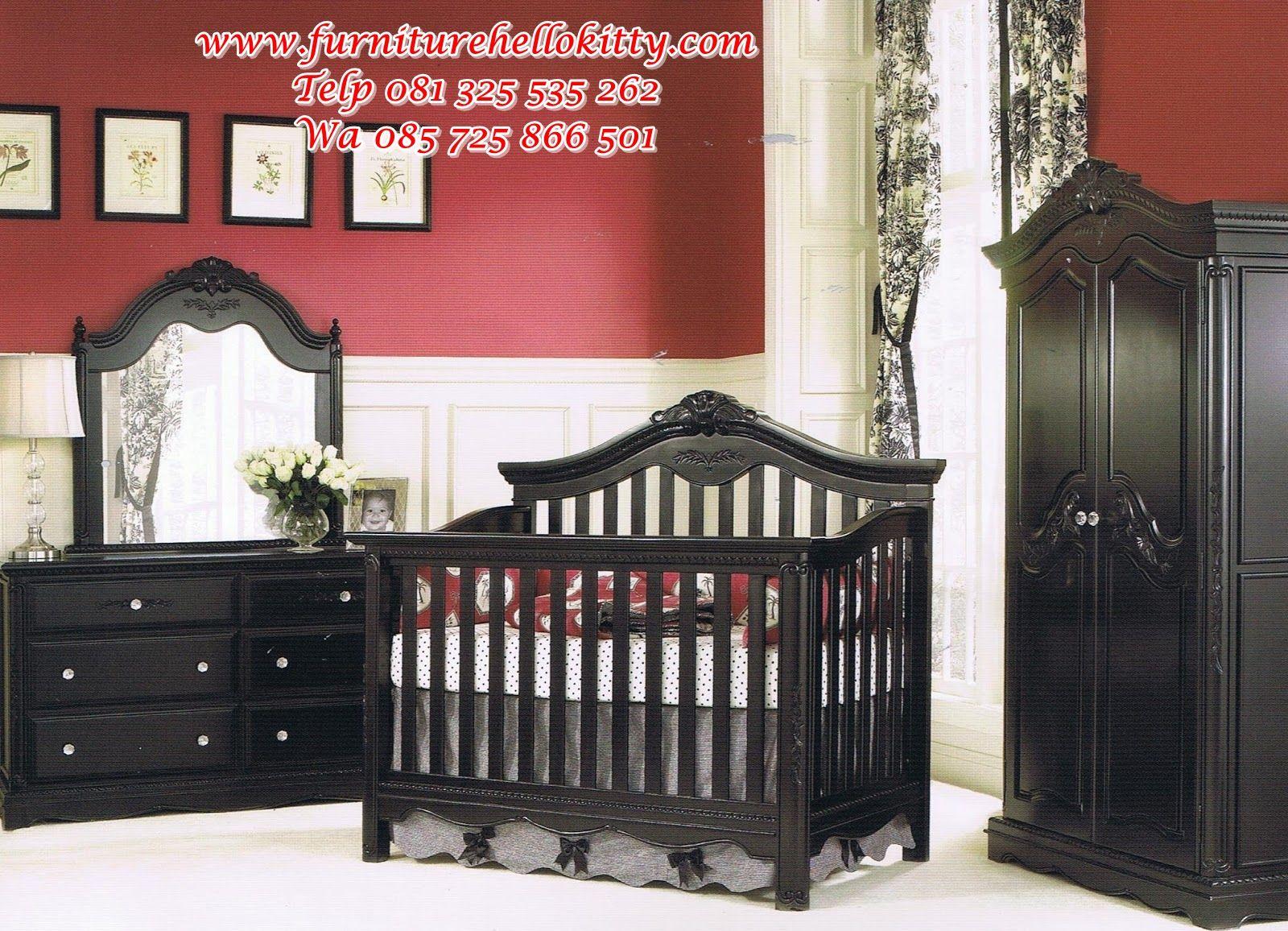 desain set tempat tidur bayi, desain set kamar tidur bayi ...