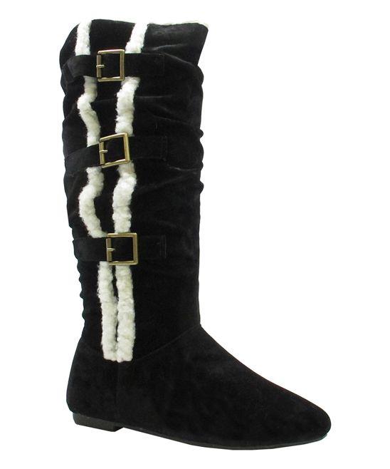 6eae114ea81 Black Buckle Stevie Boot