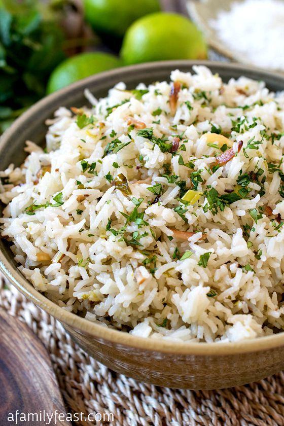 Coconut Rice | Recipe | Coconut rice, Hawaiian side dishes ...