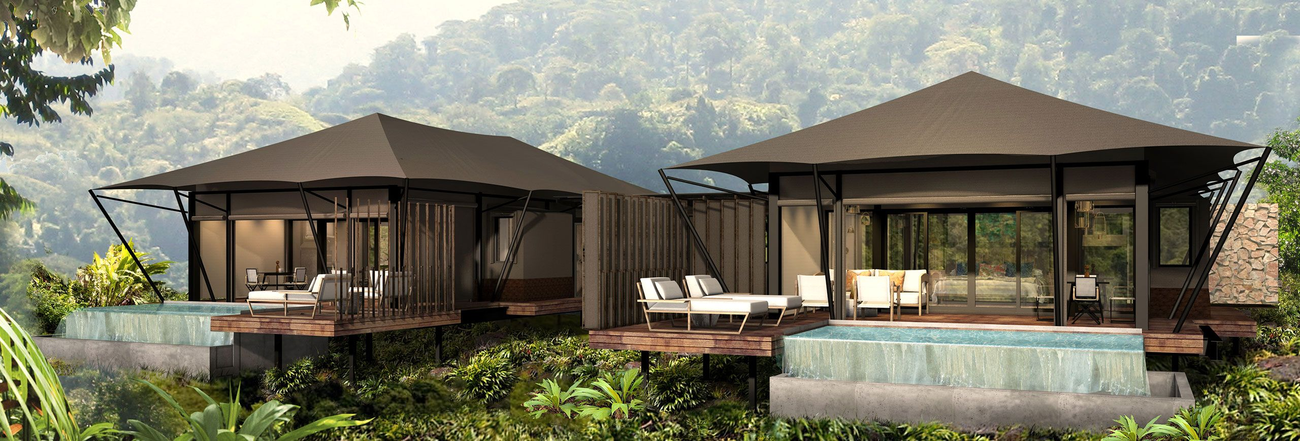 Nayara Tented Camp Arenal Volcano National Park Costa Rica Luxury Frontiers Luxury Hotel Luxury Tents Hotel