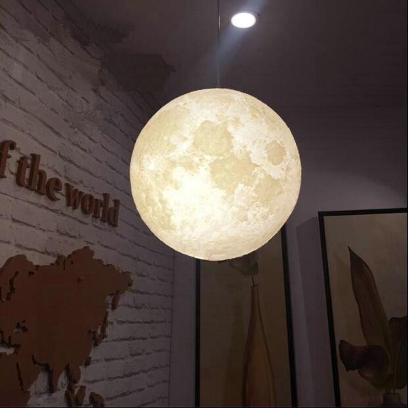 Full Moon 3d Hanging Lamp Hanging Lights Hanging Pendant Lamp Hanging Lamp
