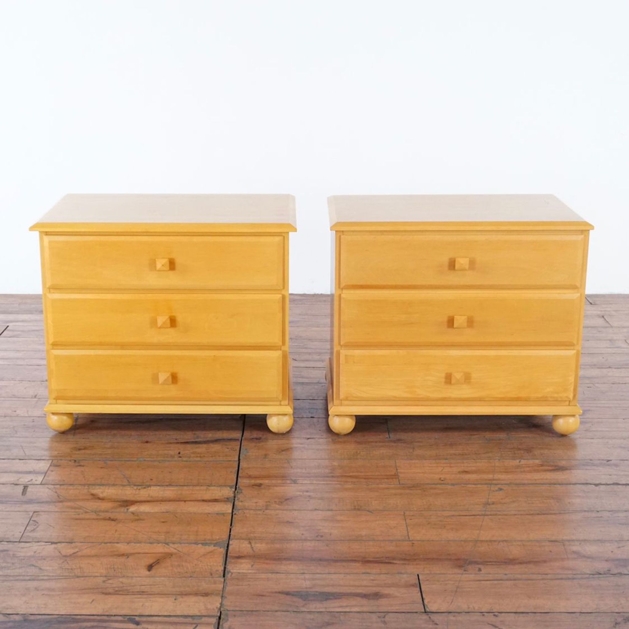 Pair Of Ethan Allen American Dimensions Nightstands Furniture