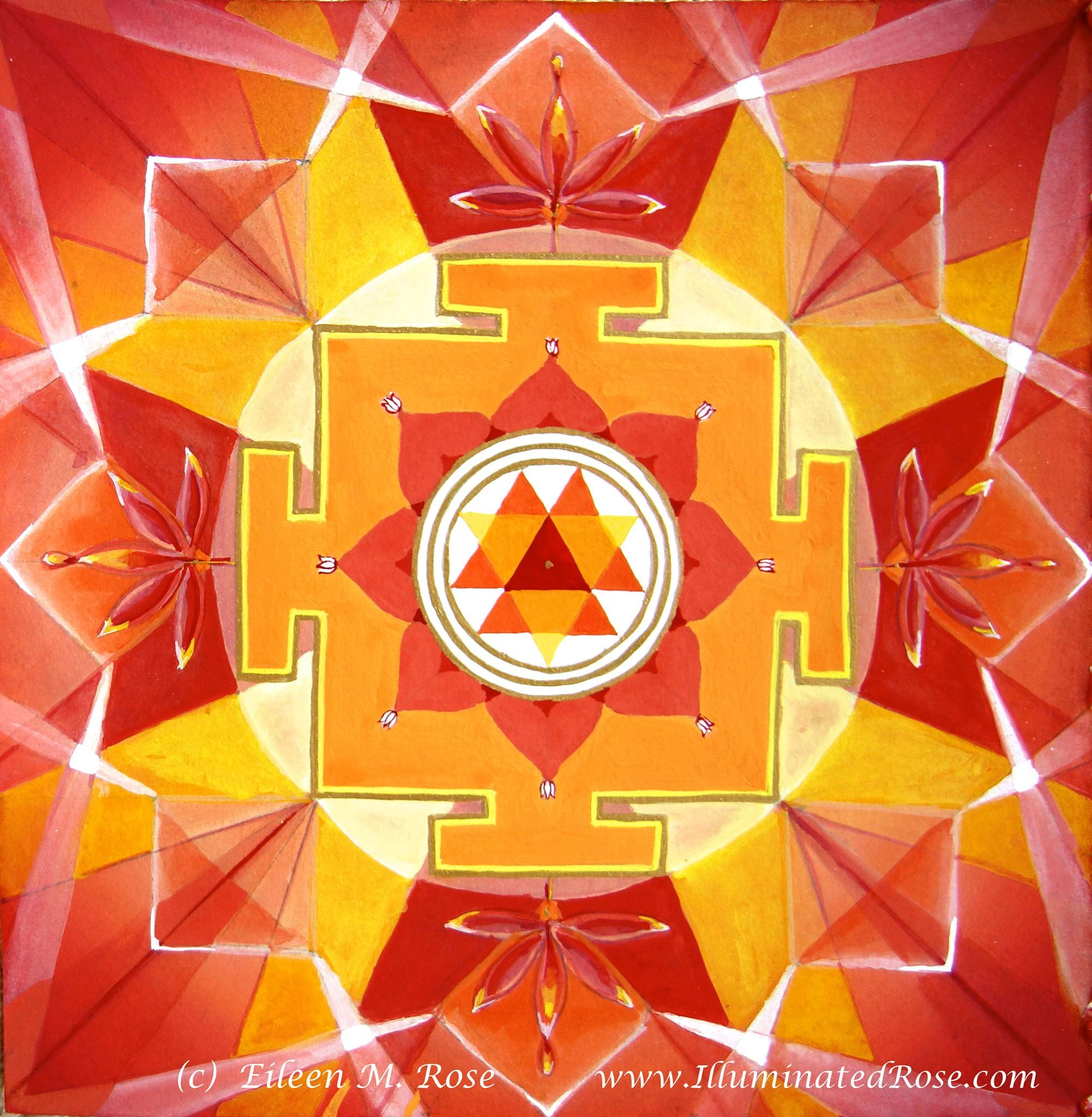 Durga Mandala by Eileen Rose Excellent for both Rahu and