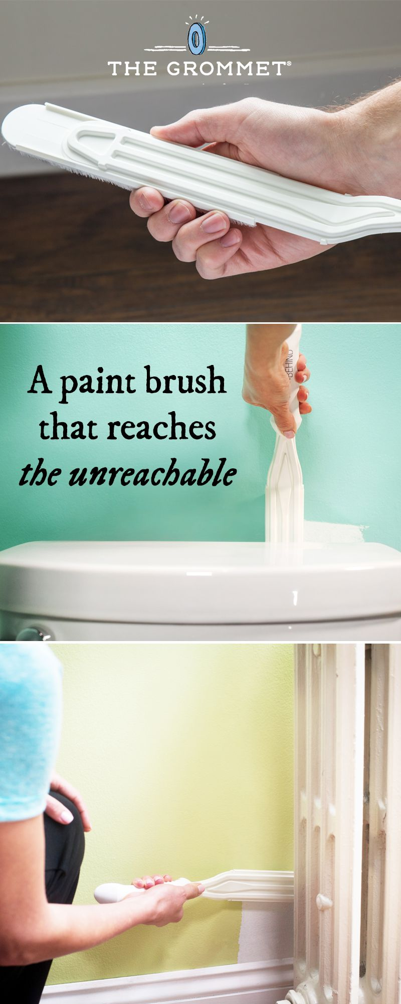 Paint Behind Tight Space Paint Brush Home Diy Pinterest Paint