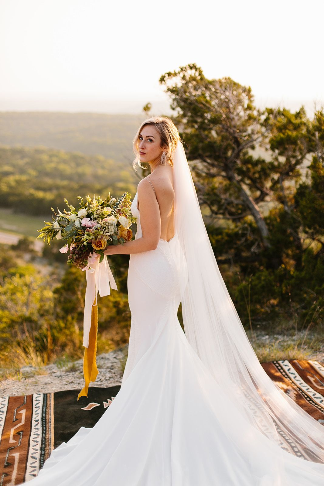 Becca Looks Gorgeous In Our Lsxgws Wyatt Gown From Her Austin Texas Wedding Rachel Meagan Photography Wedding Dresses Simple Wedding Dresses Bride Style