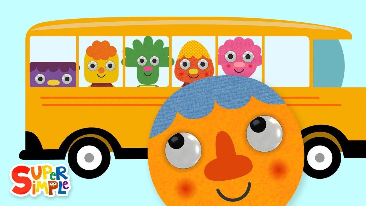 The Wheels On The Bus 2019 Nursery Rhymes Super Simple Songs In 2020 Super Simple Songs Wheels On The Bus Nursery Rhymes