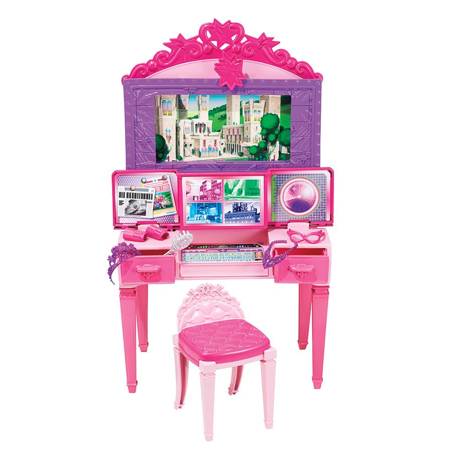 Barbie princess power vanity set toys r us australia kids play barbie princess power vanity set toys r us australia geotapseo Images