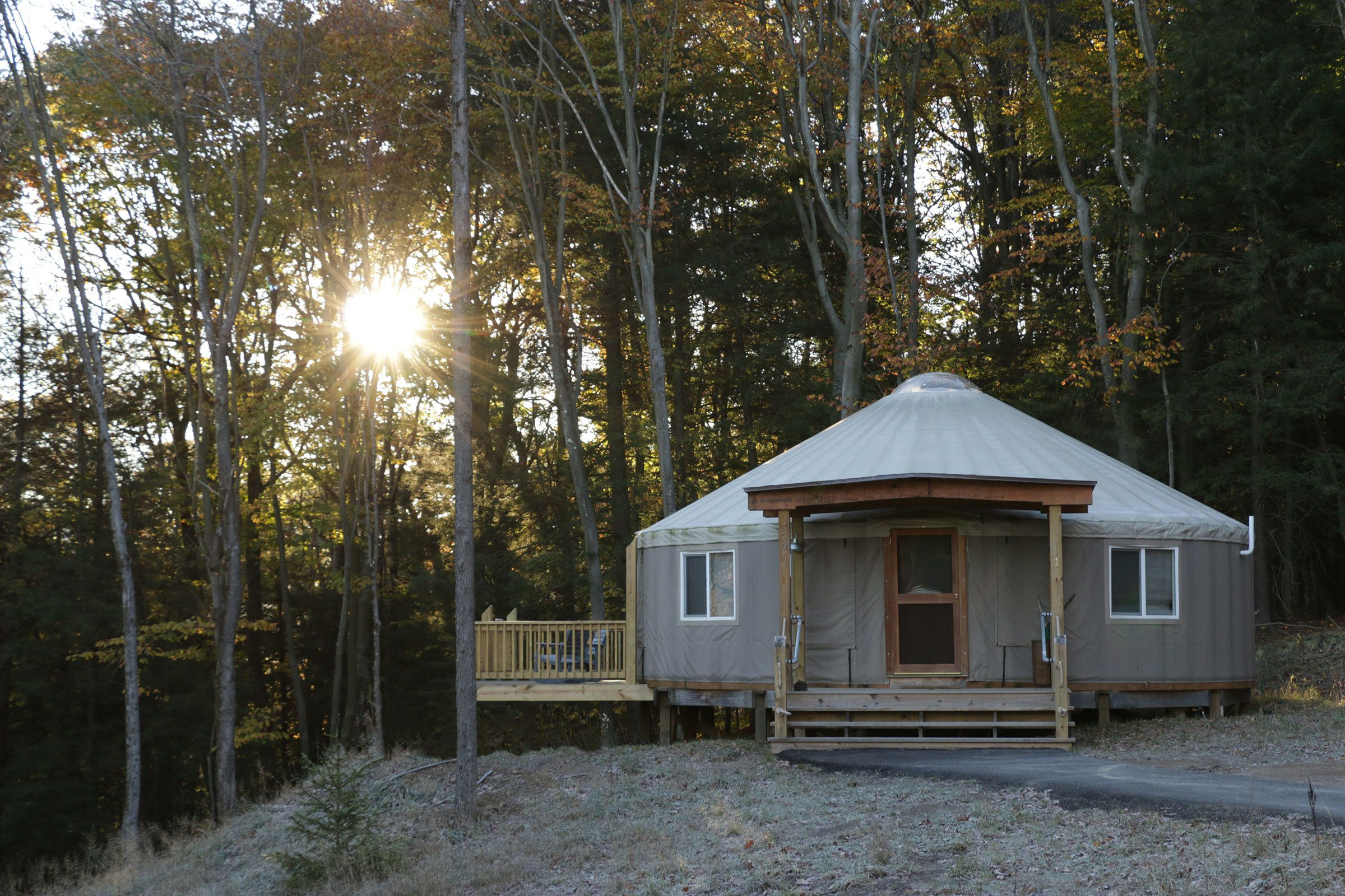 9 yurt vacation rentals for the modern alternative camper dwell