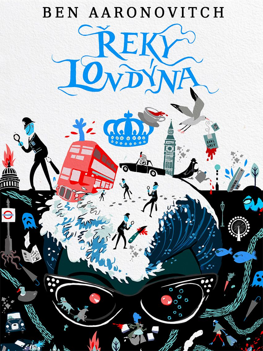 Ben Aaronovitch : Rivers Of London Book Cover :: Detail Galerie ::  Ktaiwanita