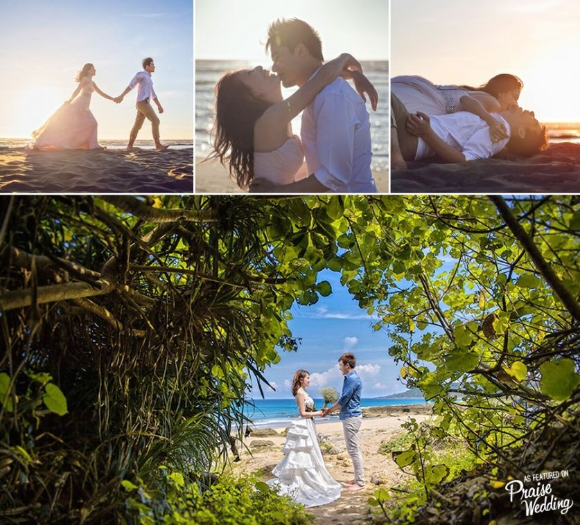 Romantic Guam Destination Prewedding Photoshoot