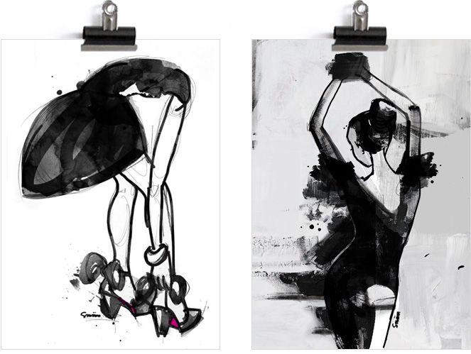 Sara Woodrow Artwork   SMÄM - Illustrations and stuff