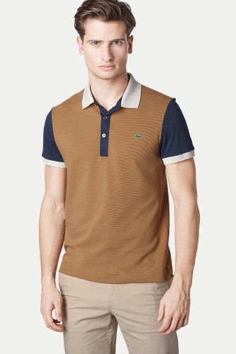 Polo top. The masculine way to color block.   My Living Ken ... e275c30837