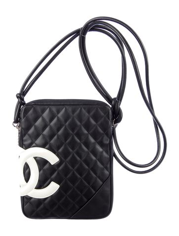e193ee48edf14e Classic black and white with this Chanel Cambon Crossbody Bag ...