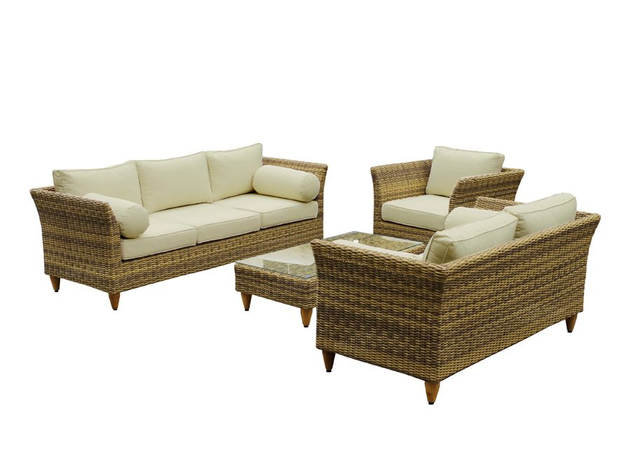 united house furniture carolina 3 2 1 with coffee table outdoor