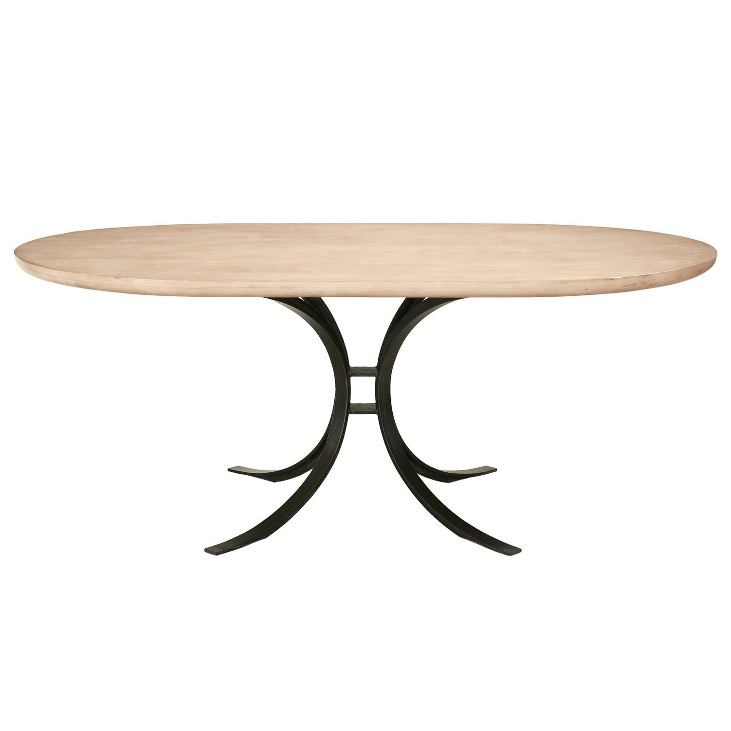 Redford House Quincy Oval Dining Table Living Room