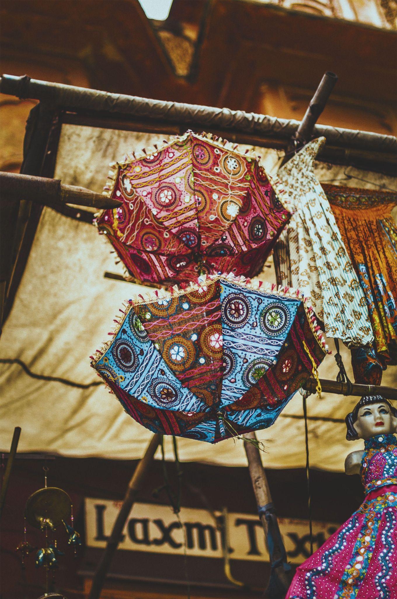 Hanging Umbrellas - Jaipur, India
