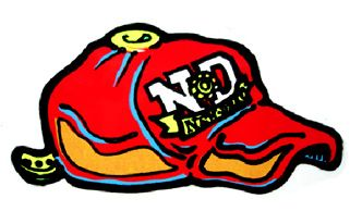 The New Deal Skateboards Hat Sticker  7518336e0a5