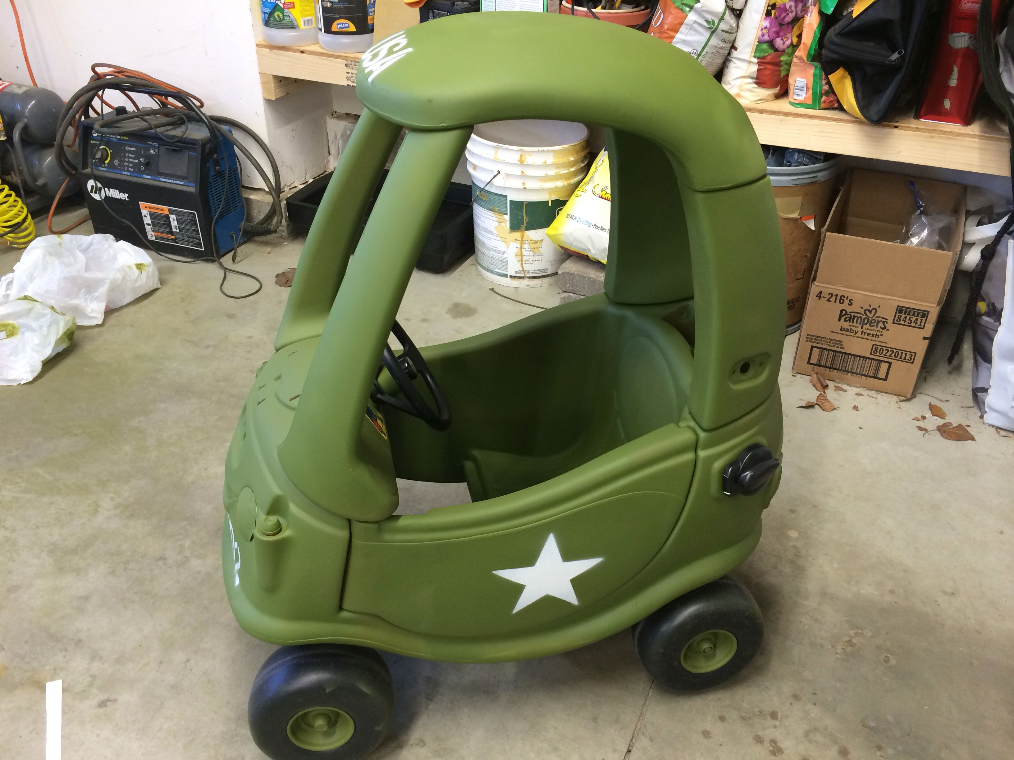 Willys Jeep Cozy Coupe Makeover Kids Montables Carritos Nios