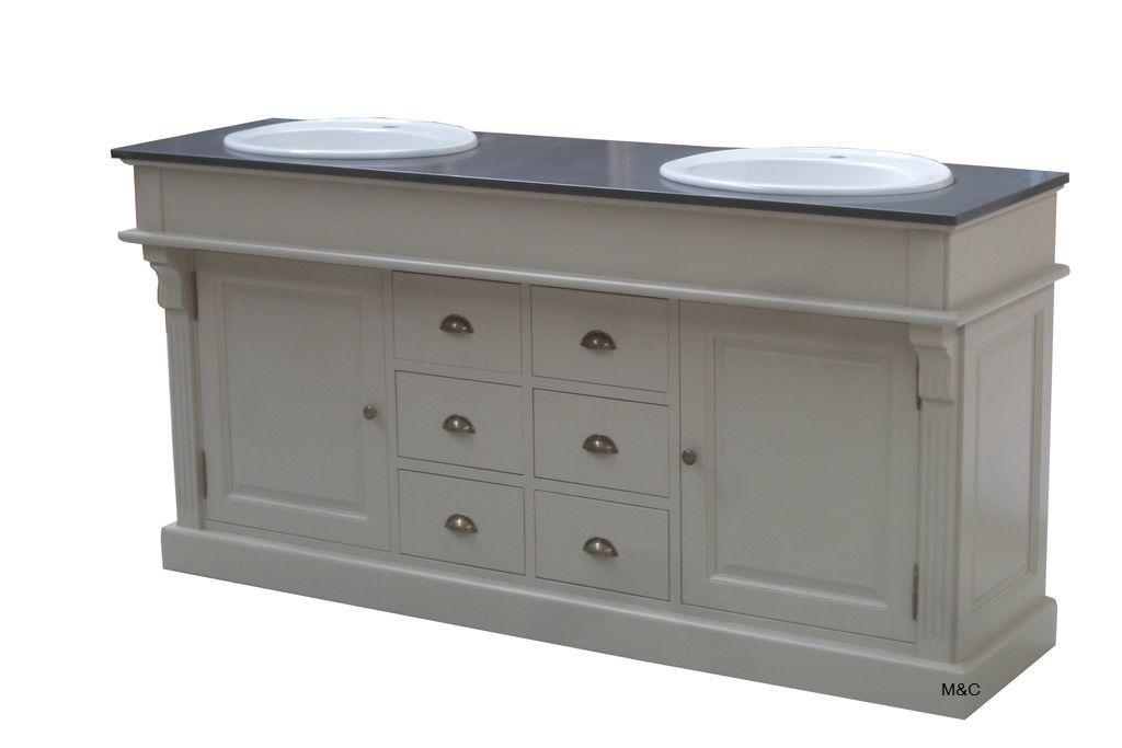 Meuble Marbre Salle De Bain meuble de salle de bain en bois plateau marbre | meuble de salle de