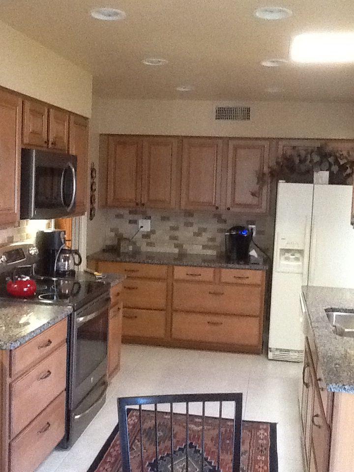 Jc Crossroads Const Kitchen Remodel Of A 1960 S Sun City Az Home
