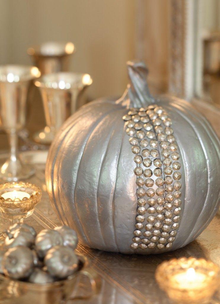 Southern Lady Magazine Silver Pumpkins Cinderella Pumpkin Silver Chic