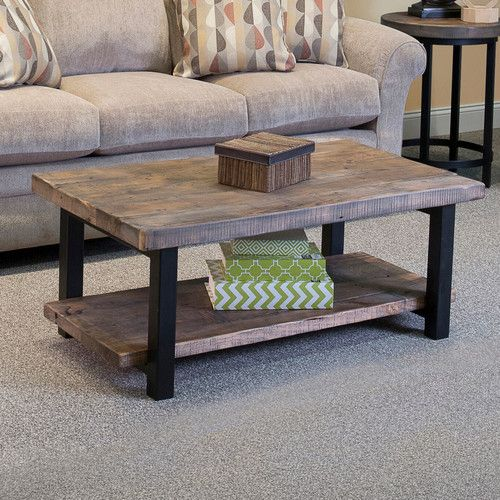 Found It At Wayfair Somers W Reclaimed WoodMetal Coffee Table - Wayfair reclaimed wood coffee table