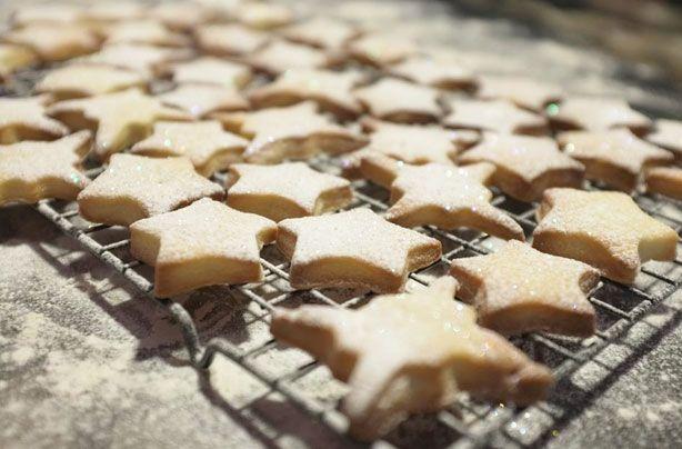 Shortbread Star Biscuits