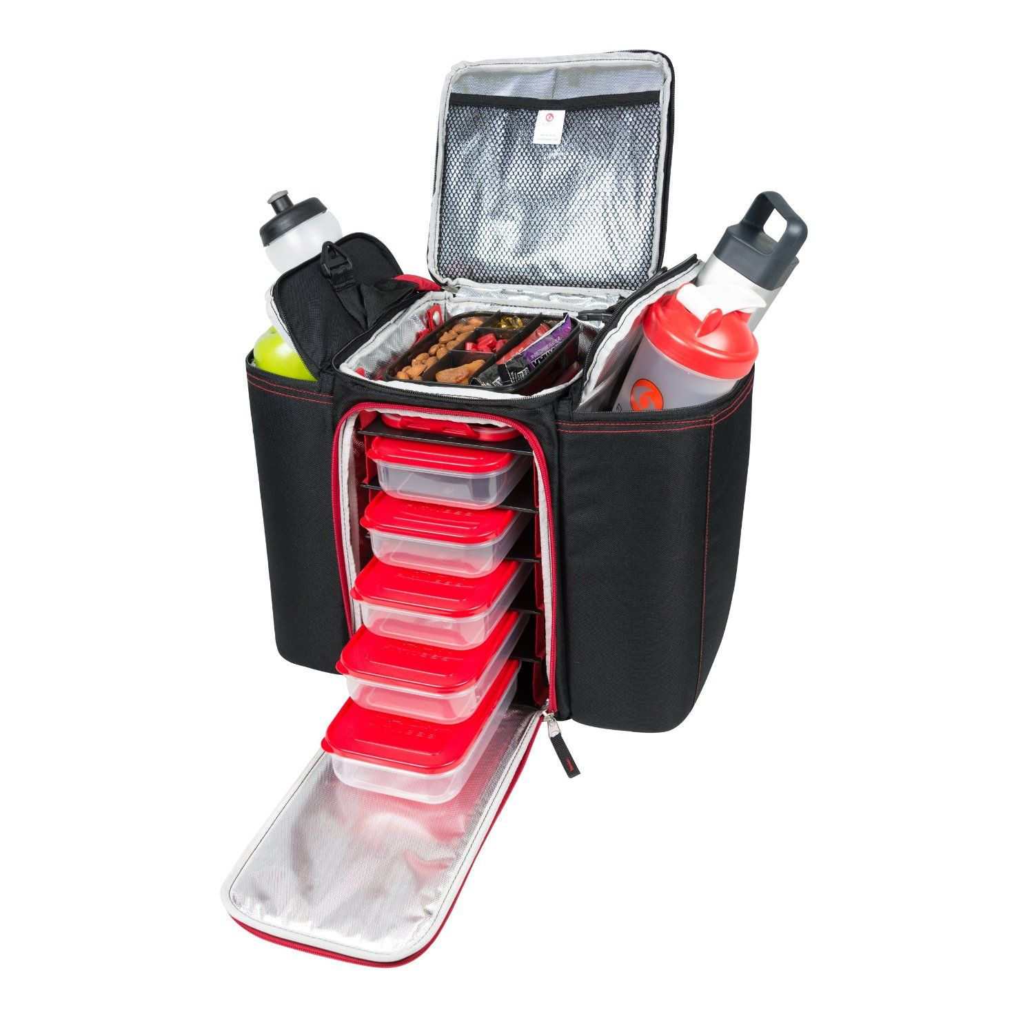 Meal Prep Fitness Bag Insulated Lunch Management At Work Gym Or Travel Design