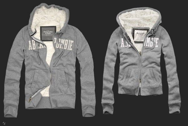 Abercrombie Accessories Abercrombie Accessories Abercrombie Womens Abercrombie Couple Abercrombie Womens: A Ampersand Mountain Couple Hoodie Womens Grey $67.99
